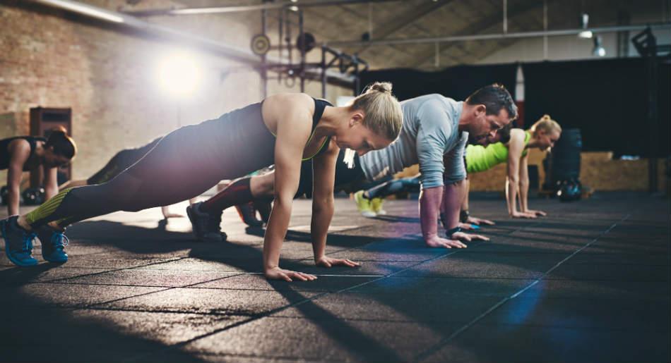 Видове упражнения за укрепване на фитнес
