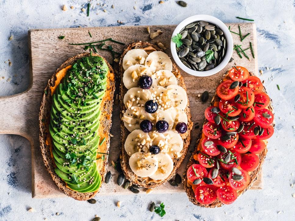 Където режим веганская диета се състои от?