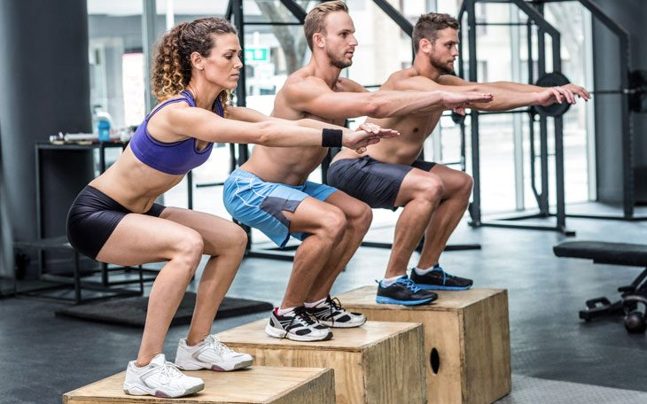 Схема упражнения