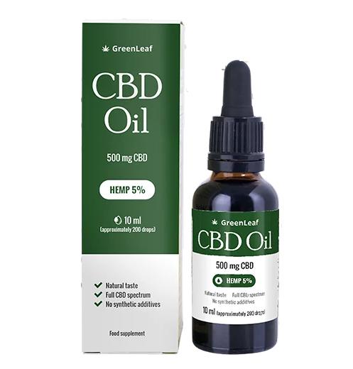 Green Leaf CBD Oil - Дозировка - как се използва?