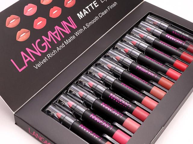 Langmanni Matte Lipstick - Дозировка как се използва Как се приема